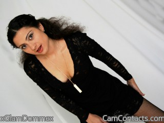 Webcam model xGlamDommex from CamContacts