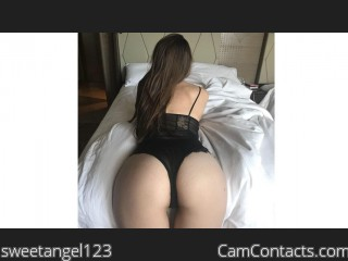 Webcam model sweetangel123 from CamContacts
