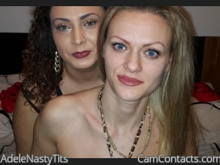 Webcam model AdeleNastyTits from CamContacts