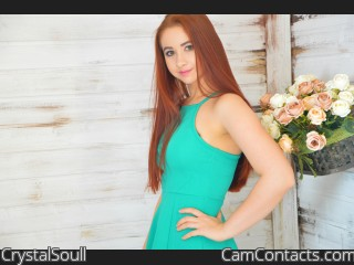 Webcam model CrystalSoull from CamContacts