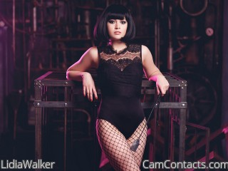 Webcam model LidiaWalker from CamContacts