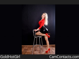 Webcam model GoldHotGirl from CamContacts