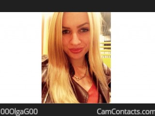 Webcam model 00OlgaG00 from CamContacts