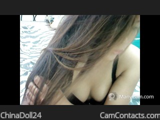 Webcam model ChinaDoll24 from CamContacts