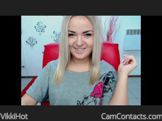 Start VIDEO CHAT with VikkiHot