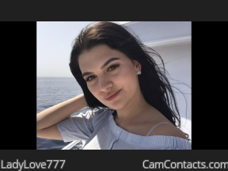 Webcam model LadyLove777 from CamContacts