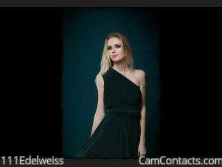 Webcam model 111Edelweiss from CamContacts