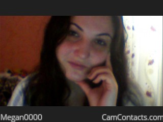 Webcam model Megan0000 from CamContacts