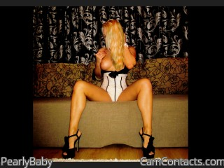 Webcam model PearlyBaby from CamContacts