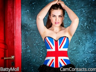 Webcam model BattyMoll from CamContacts