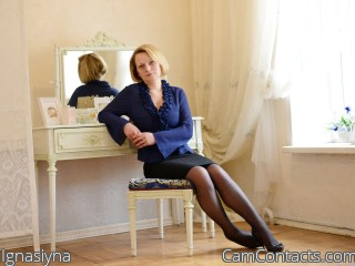 Webcam model Ignasiyna from CamContacts