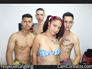 Webcam model YesykGetGngBng from CamContacts