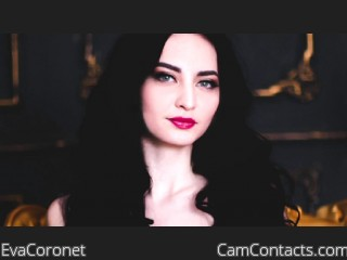 Webcam model EvaCoronet from CamContacts