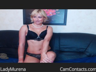 Webcam model LadyMurena from CamContacts