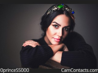 Webcam model 0princeSS000 from CamContacts