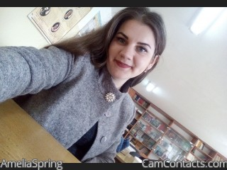 Start VIDEO CHAT with AmeliaSpring