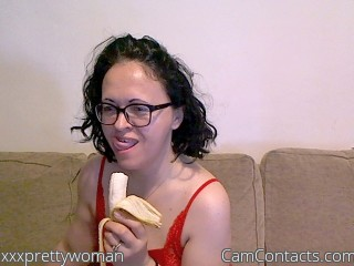 Webcam model xxxprettywoman from CamContacts