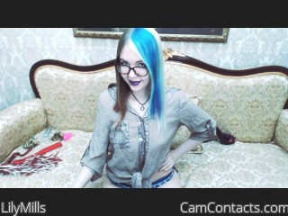 Start VIDEO CHAT with LilyMills