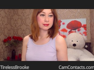 Start VIDEO CHAT with TirelessBrooke