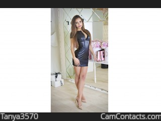 Webcam model Tanya3570 from CamContacts