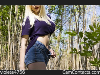 Start VIDEO CHAT with violeta4756