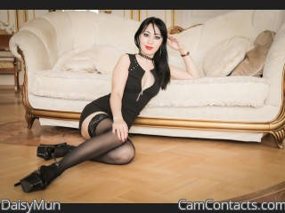 Webcam model DaisyMun from CamContacts