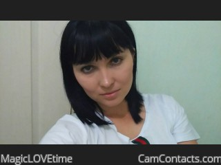 Webcam model MagicLOVEtime profile picture