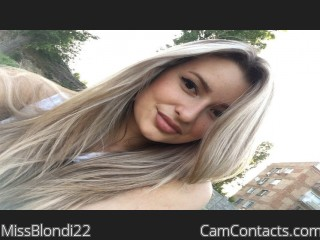 Start VIDEO CHAT with MissBlondi22