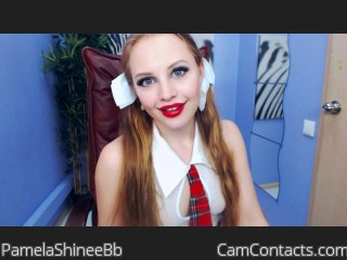 Start VIDEO CHAT with PamelaShineeBb