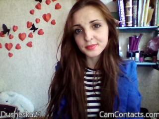 Webcam model Dusheska21 from CamContacts