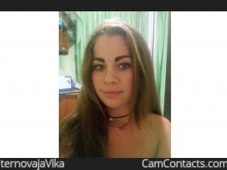 Webcam model ternovajaVika from CamContacts