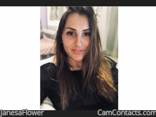Webcam model JanesaFlower from CamContacts
