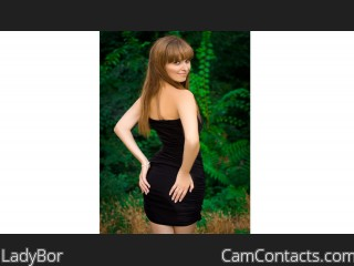 Webcam model LadyBor from CamContacts
