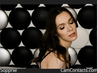 Webcam model Sopphie from CamContacts