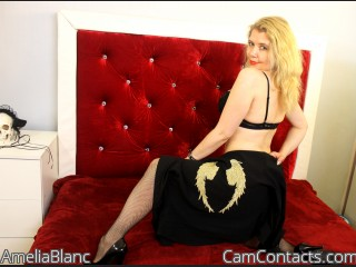 Start VIDEO CHAT with AmeliaBlanc