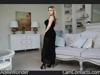 Webcam model AdeleWonder from CamContacts