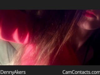 Webcam model DennyAkers from CamContacts