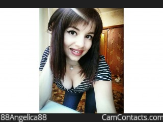 Webcam model 88Angelica88 from CamContacts