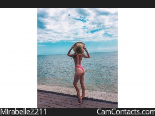 Webcam model Mirabelle2211 from CamContacts