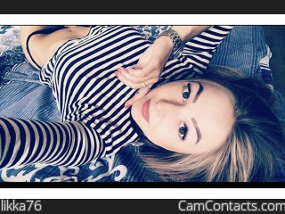 Webcam model likka76 from CamContacts