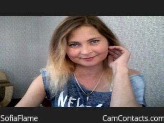 Start VIDEO CHAT with SofiaFlame