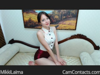 Webcam model MikkiLaima from CamContacts