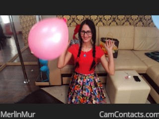 Webcam model MerlinMur from CamContacts