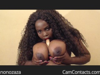 Webcam model nonozaza from CamContacts