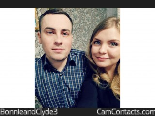 Webcam model BonnieandClyde3 from CamContacts