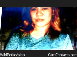 Webcam model WildPetiteAsian from CamContacts