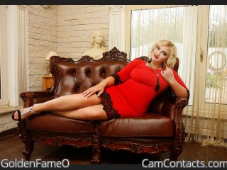 Webcam model GoldenFameO from CamContacts