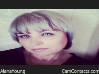 Start VIDEO CHAT with AlanaYoung