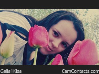 Webcam model Galia1Kisa from CamContacts