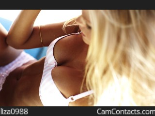 Webcam model liza0988 from CamContacts